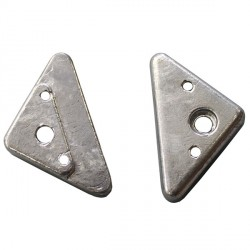 ANODE Triangle Plate...