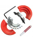 Rope cutter for shaft line